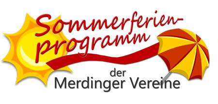 Sommerferienprogramm der Merdinger Vereine